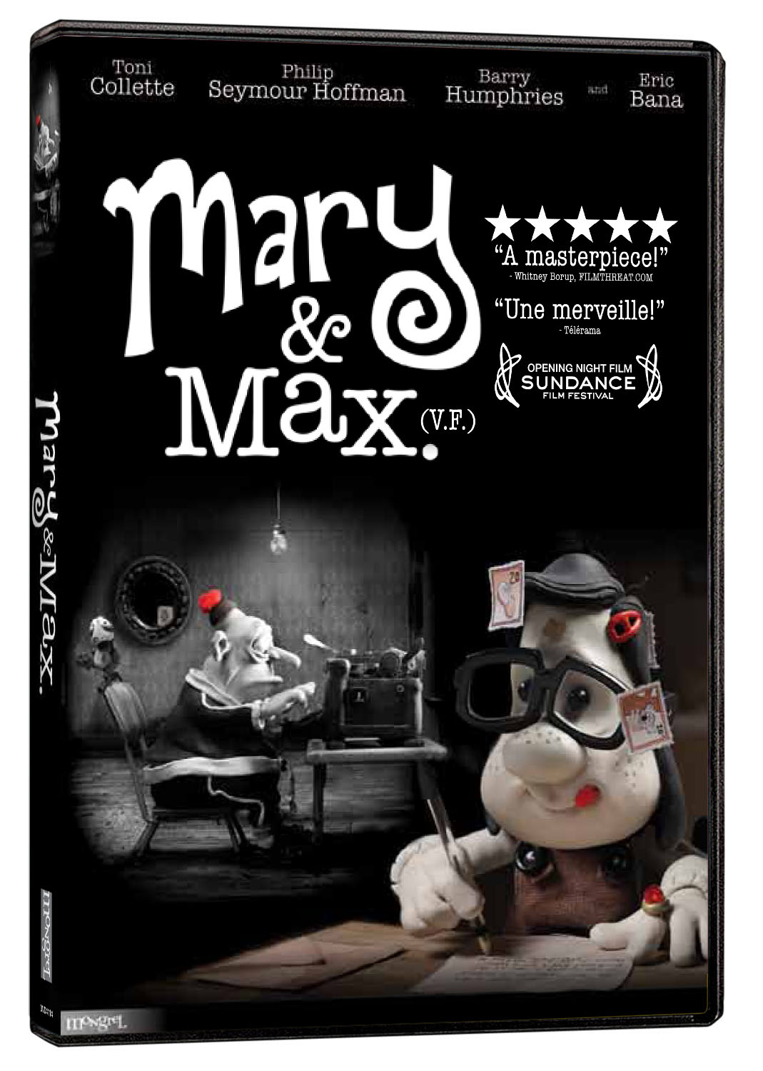 a critique of the movie mary and max by adam eliot I saw adam elliot's feature film mary and max at metro magazine's 40th  he  seemed quite genuine about asking for negative criticism.