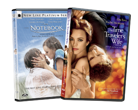 Dvd Release The Time Traveler S Wife The Notebook 2 Pack