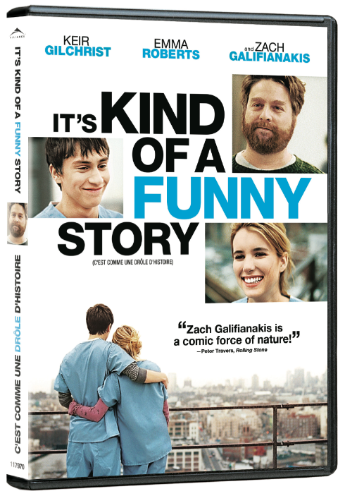 dvd review it�s kind of a funny story one movie our views