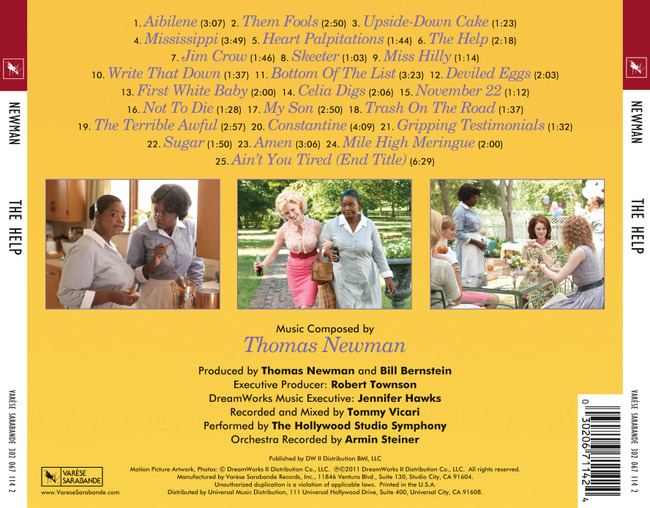 Score Soundtrack Review The Help One Movie Our Views