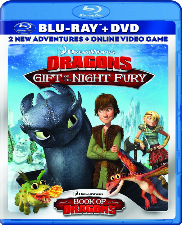 Dvd blu ray release dreamworks dragons gift of the night fury one