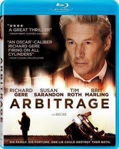 Arbitrage Blu-ray Cover