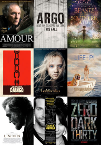 Best Picture Posters 2013