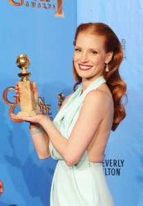 Jessica Chastain - 70th Golden Globes