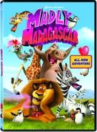 Madly Madagascar DVD Cover