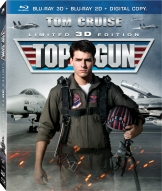 Top Gun 3D Blu-ray Cover