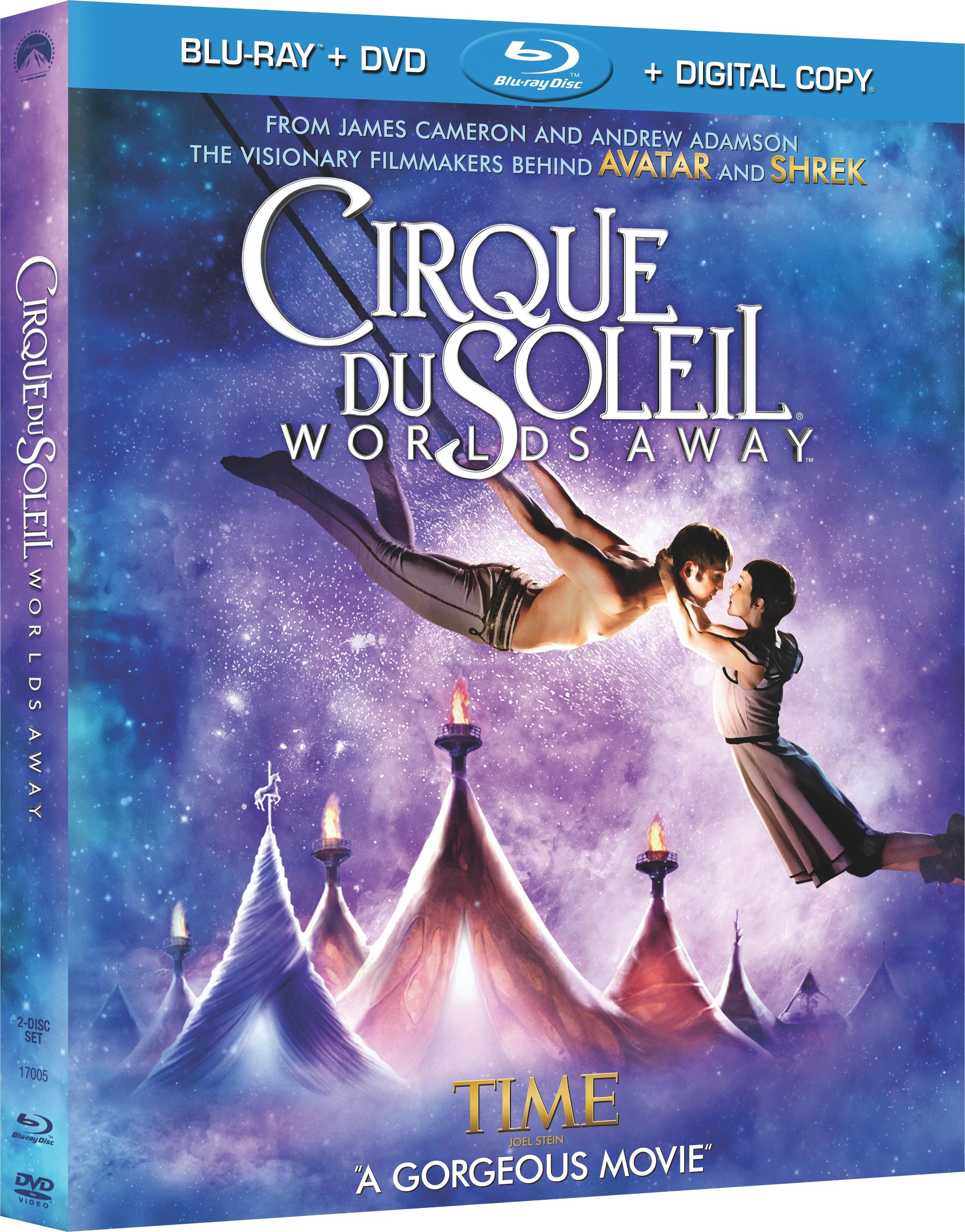 Cirque Du Soleil Worlds Away: DVD Review: Cirque Du Soleil: Worlds Away