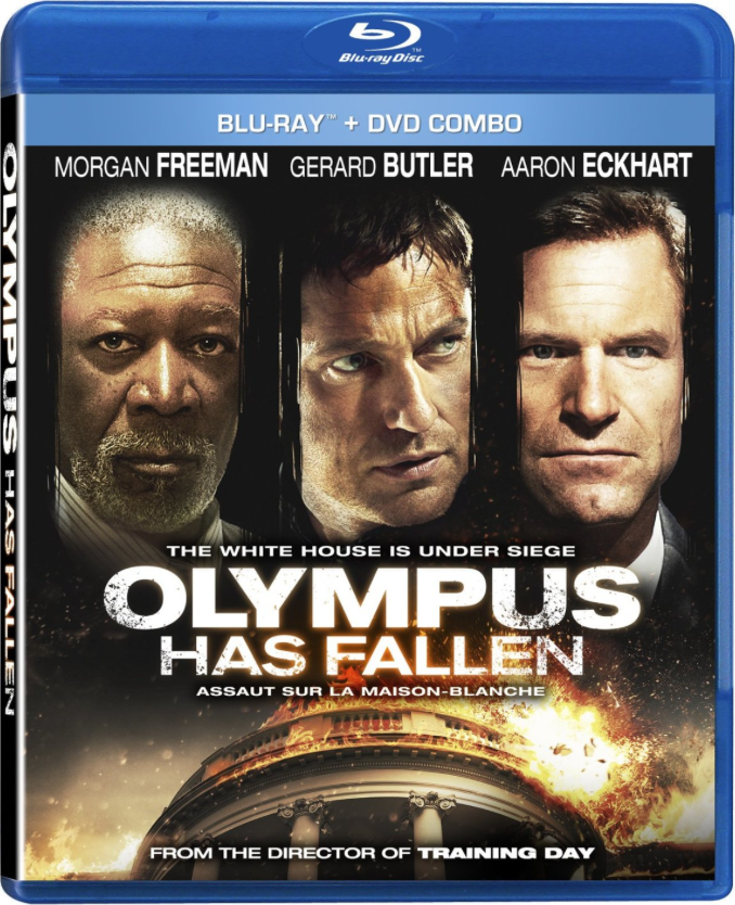 Olympus Has Fallen Dvd Cover