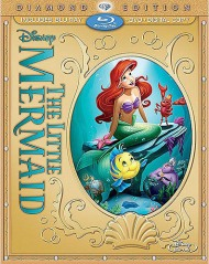 The Little Mermaid Blu-ray Cover
