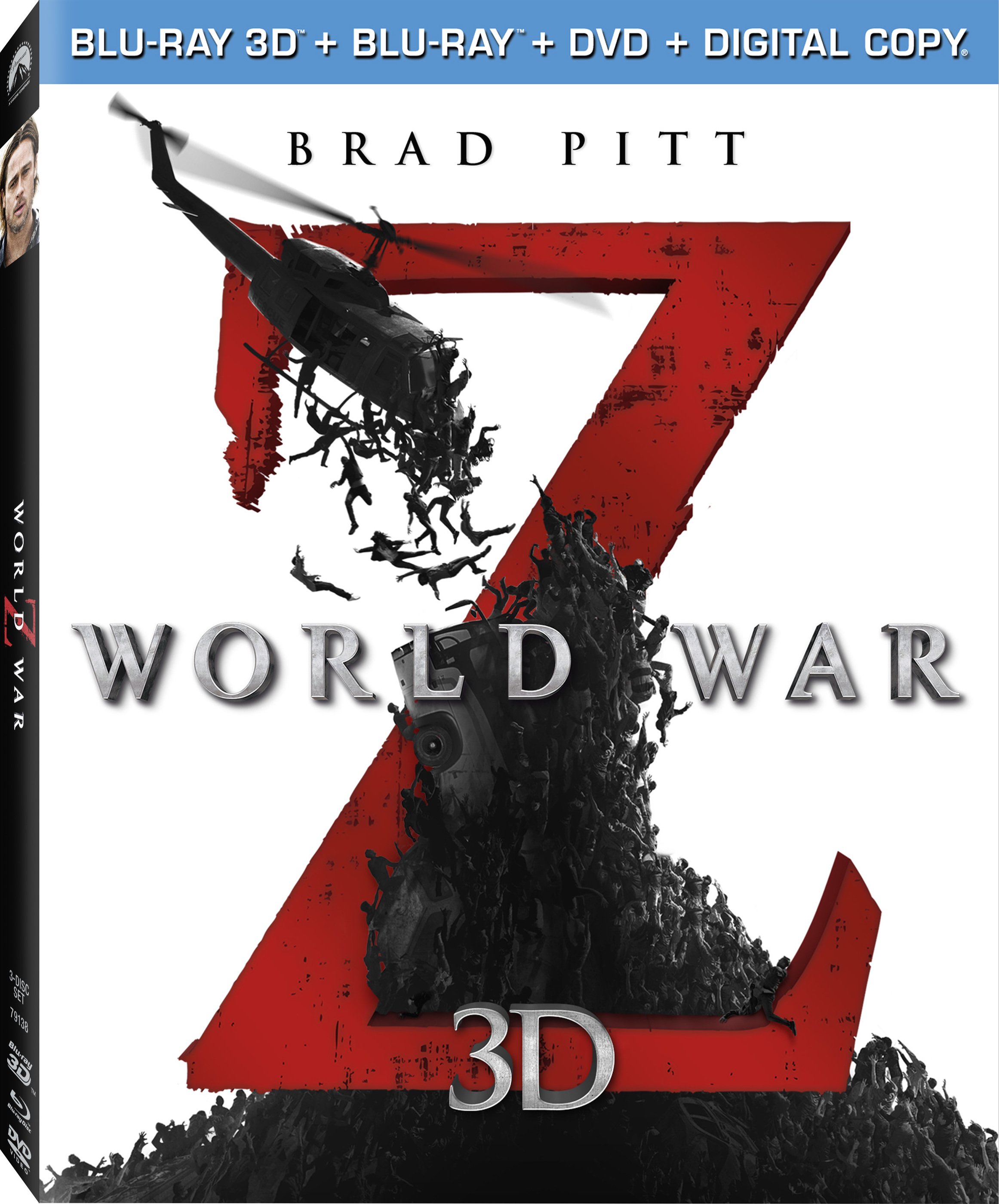 World War z Blu Ray Cover World War z 3d Blu-ray Cover