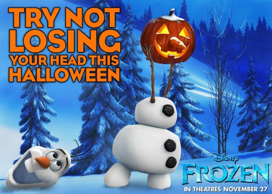 Frozen Halloween