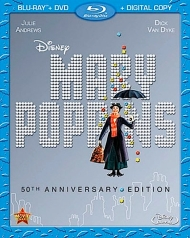 Mary Poppins Blu-ray Cover
