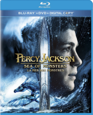 Sea of Monsters Blu-ray Cover