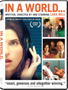 In a World... DVD Cover