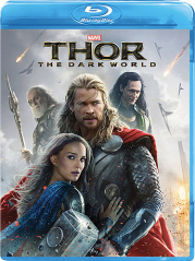 The Dark World Blu-ray Cover