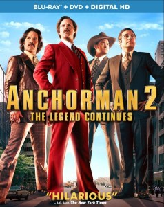 Anchorman 2 Blu-ray Cover