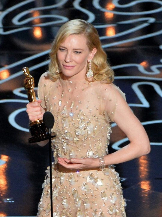 Wins Big at the 86th Oscars   187  Cate Blanchett     Oscars 2014Cate Blanchett Oscars 2014