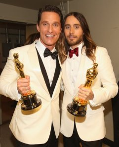 Matthew McConaughey and Jared Leto - Oscars 2014