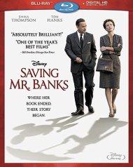 Saving Mr. Banks Blu-ray Cover