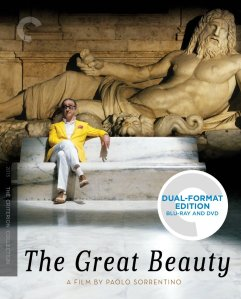 The Great Beauty Blu-ray Cover
