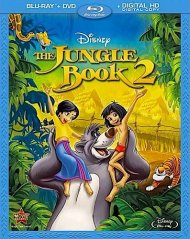 The Jungle Book 2 Blu-ray Cover