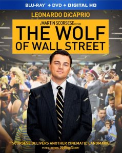 The Wolf of Wall Street Blu-ray Cover