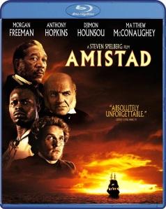 Amistad Blu-ray Cover