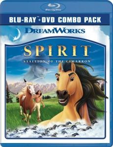 Spirit Blu-ray