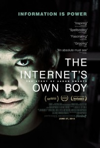The Internet's Own Boy Poster