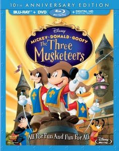 The Three Musketeers Blu-ray