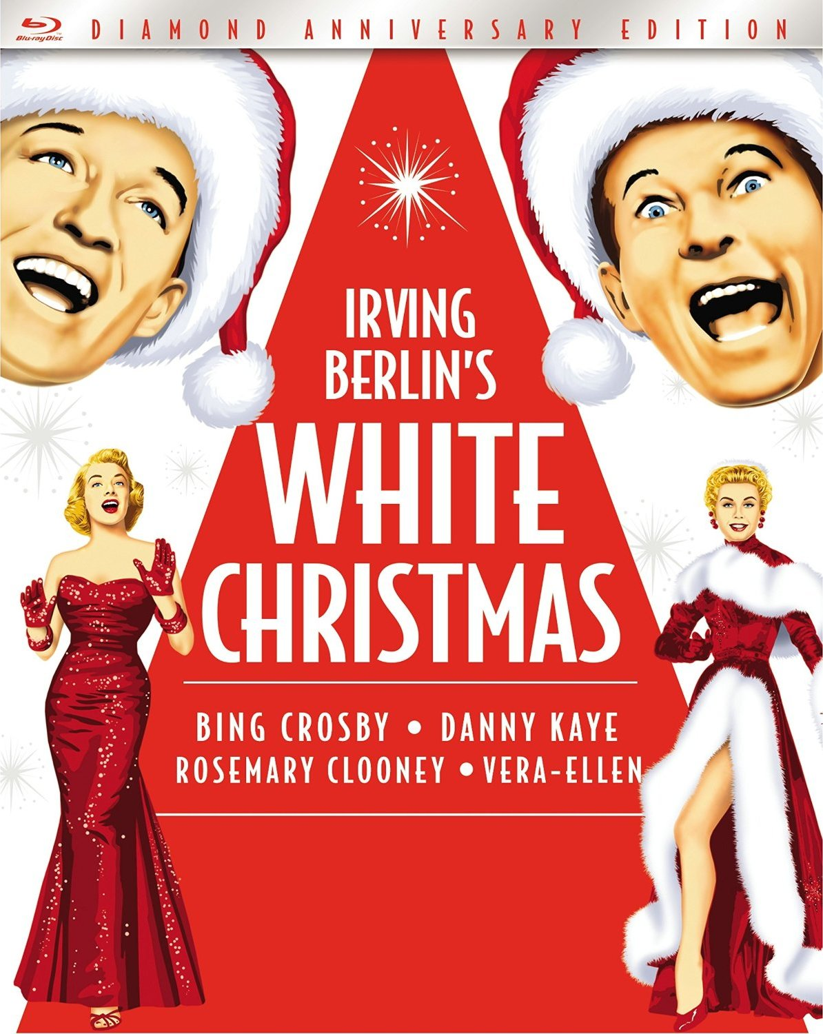 The Cast Of White Christmas.Blu Ray Release White Christmas One Movie Our Views