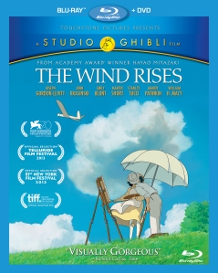 The Wind Rises Blu-ray