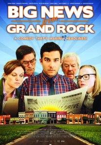 Big News From Grand Rock Poster