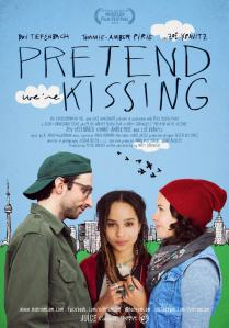 Pretend Were Kissing Poster