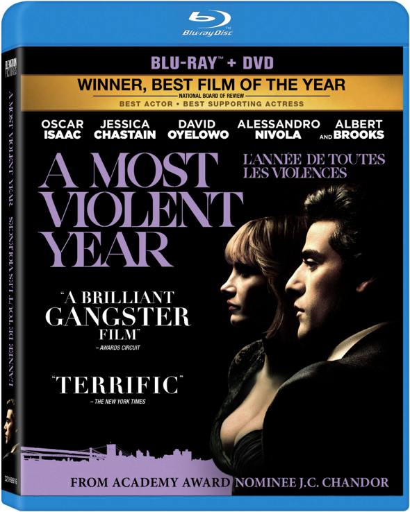 Image result for a most violent year blu ray