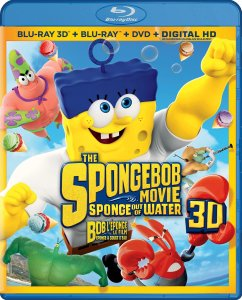 Sponge Out of Water Blu-ray