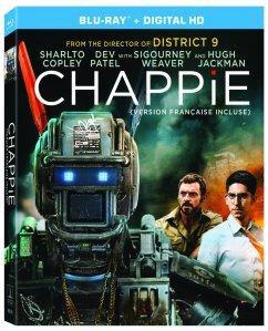 Chappie Blu-ray