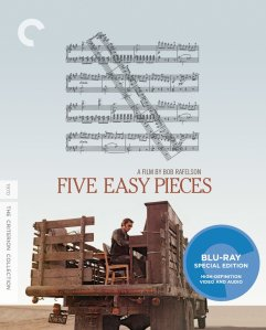 Five Easy Pieces Blu-ray