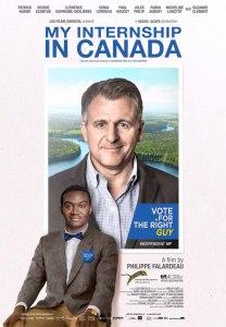 My Internship in Canada Poster