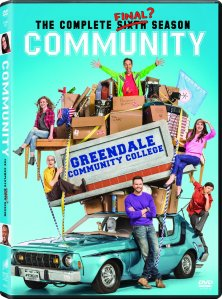 Community The Complete Sixth Season DVD