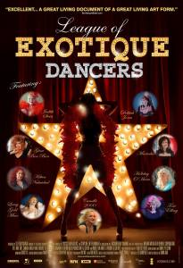 League of Exotique Dancers Poster