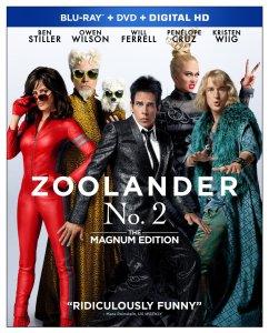 Zoolander No. 2 Blu-ray