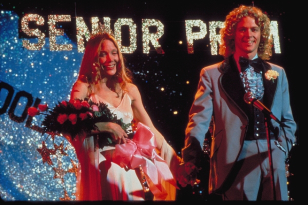 Sissy Spacek and William Katt in Carrie