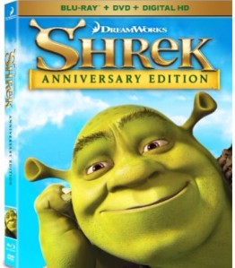 Shrek Blu-ray