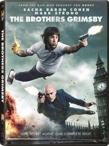 The Brothers Grimbsy DVD