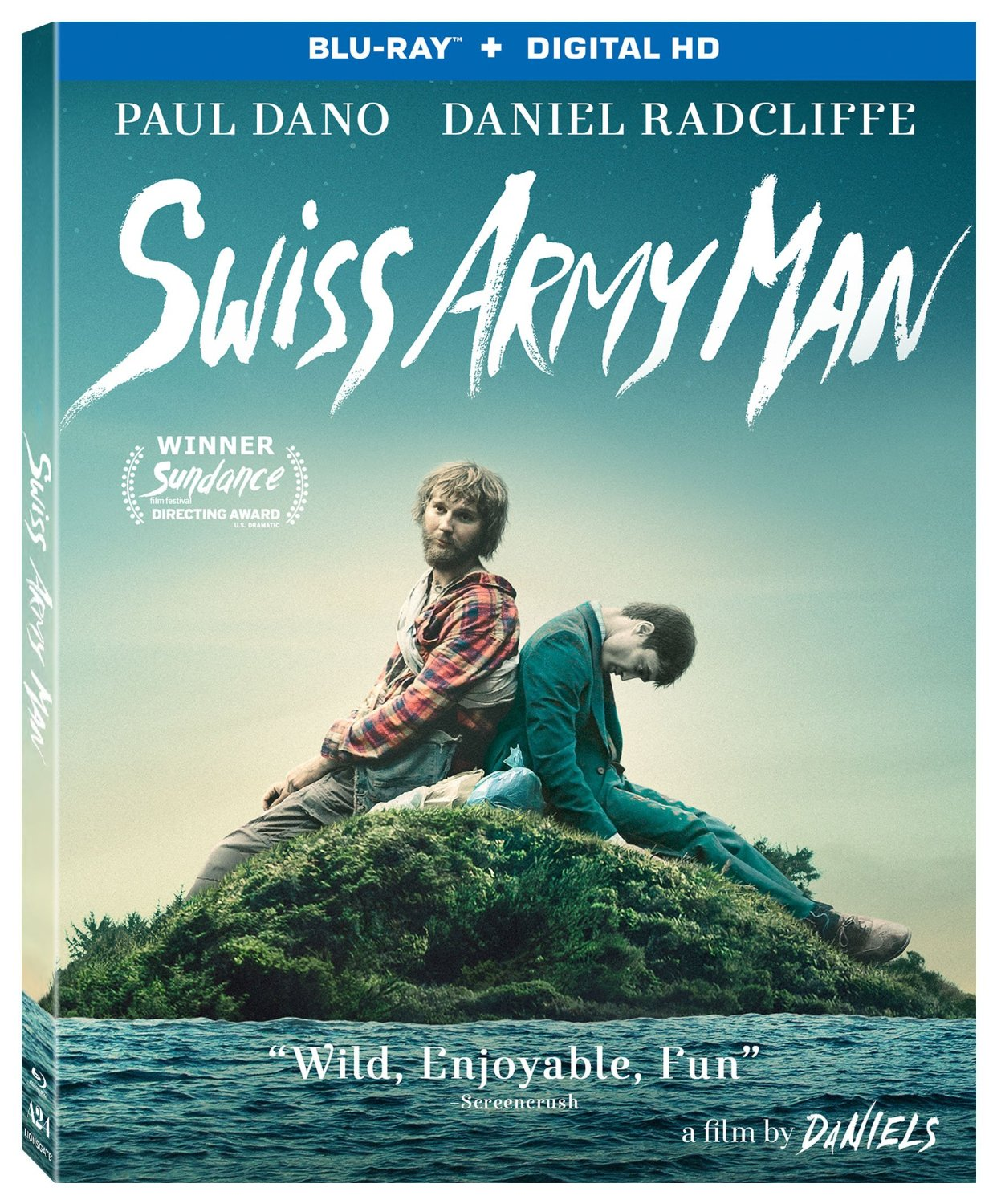 Swiss Army Man Blu Ray  Lost Person Poster
