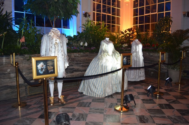 Beauty And The Beast Exhibit Cadenza Garderobe And Mrs Potts Costumes One Movie Our Views