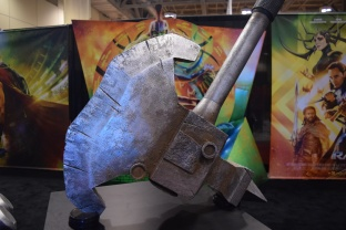 Thor Ragnarok at Fan Expo - Hulk's Axe