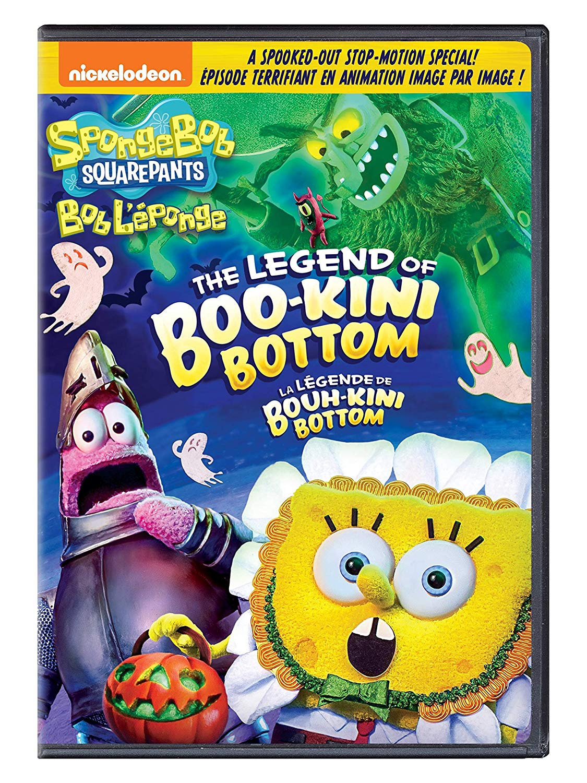 Spongebob Christmas Special.Dvd Review Spongebob Squarepants The Legend Of Boo