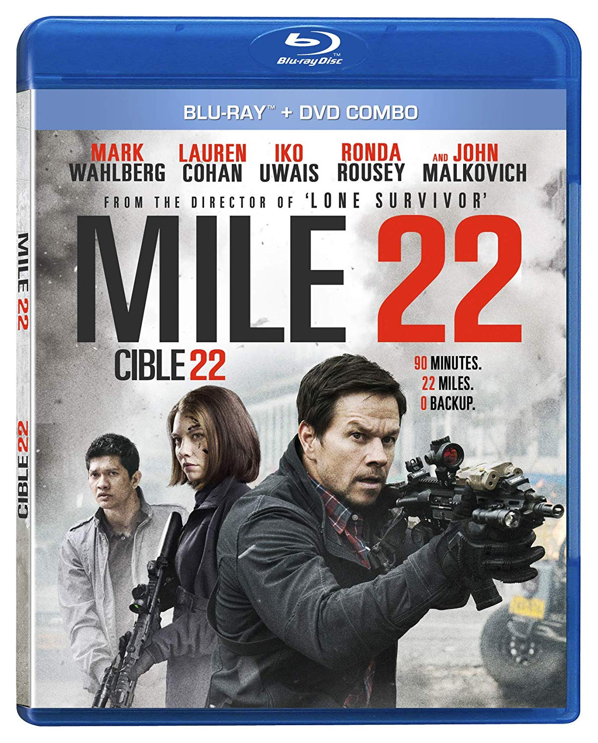 Blu-ray Review: Mile 22   One Movie, Our Views